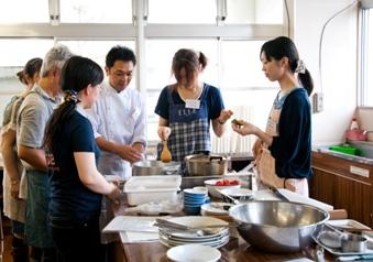 第2回いわて創作料理教室より。2011年9月開催。