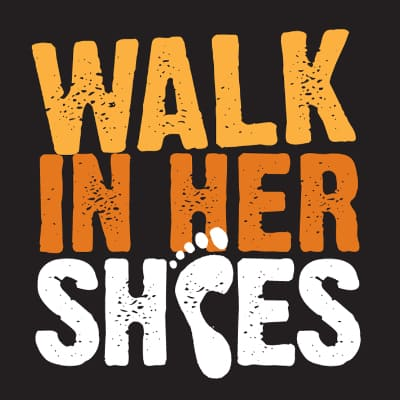 walk in her shoes ロゴ